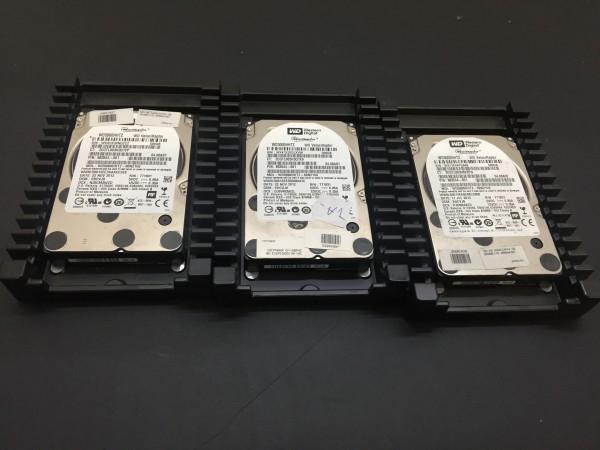 """3 Stück Western Digital VelociRaptor Festplatten 500GB 10k SATA 3.5"""" WD5000HHTZ"""